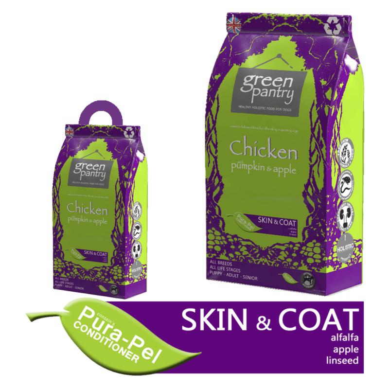 Green Pantry Teraviljavaba Kanaliha, Kõrvitsa ja Õunaga Täissööt igas vanuses koertele 12kg