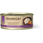 Grandorf Chicken Breast & Salmon 6x70g