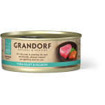 Grandorf Tuna Fillet & Salmon 6x70g