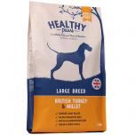 Healthy Paws Kalkuniliha ja Hirss Suurtele Koertele 12kg