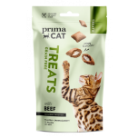 PrimaCat Crunchy Anti-Hariball Cat Treat with Beef 40g