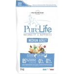 Pure Life Medium Adult Lõhe ja Pardilihaga