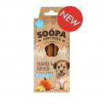 Soopa Pets Dental Sticks Banana and Pumpkin for Puppies 100g