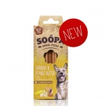 Soopa Bites Dental Sticks Banana and Peanut butter 100g